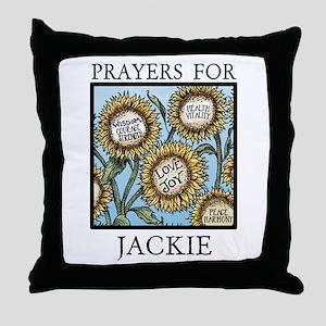 JACKIE Throw Pillow