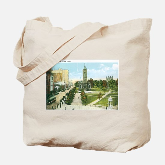 New Haven Connecticut CT Tote Bag