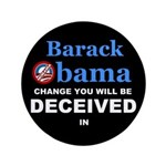 "Deceived 3.5"" Button (100 pack)"