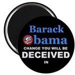 "Deceived 2.25"" Magnet (10 pack)"