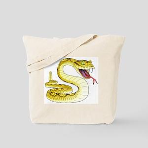 Rattlesnake Snake Tattoo Art Tote Bag