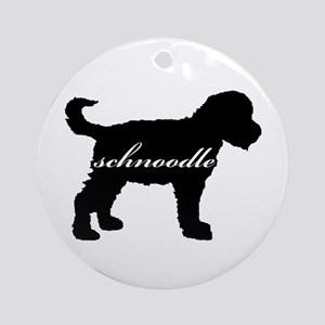 Schnoodle DESIGN Ornament (Round)