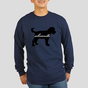 Schnoodle DESIGN Long Sleeve Dark T-Shirt
