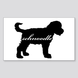 Schnoodle DESIGN Rectangle Sticker