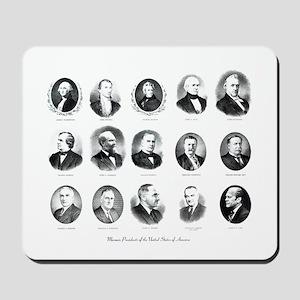 Freemason Presidents Mousepad