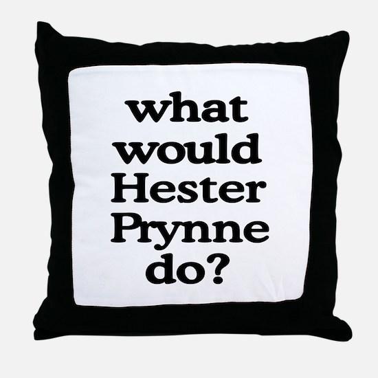 Hester Prynne Throw Pillow