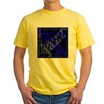 Jazz Blue on Blue Yellow T-Shirt