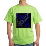 Jazz Blue on Blue Green T-Shirt