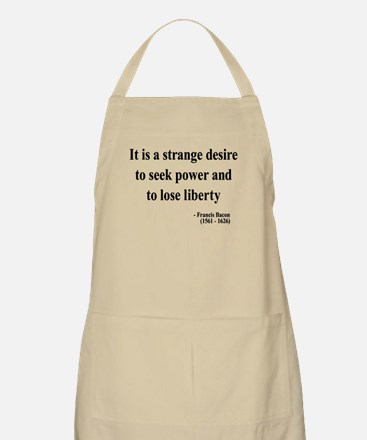 Francis Bacon Text 2 BBQ Apron