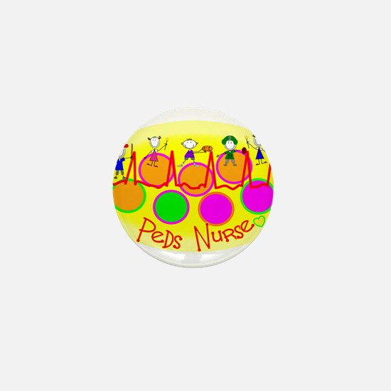 Unique Peds nurse Mini Button (10 pack)