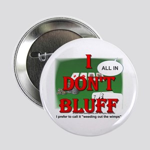 "Poker Bluffer 2.25"" Button (10 pack)"