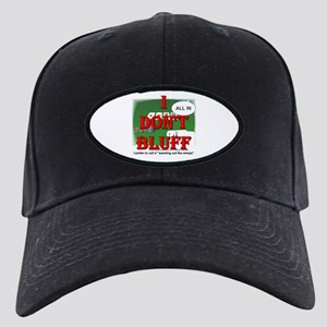 Poker Bluffer Black Cap