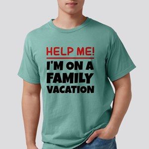 Family Vacation White T-Shirt