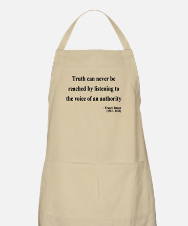 Francis Bacon Text 3 BBQ Apron