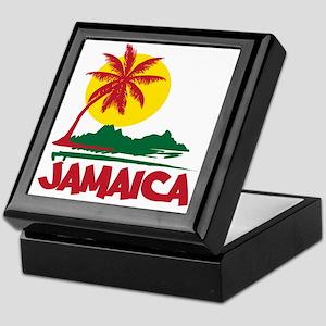 Jamaica Sunset Keepsake Box