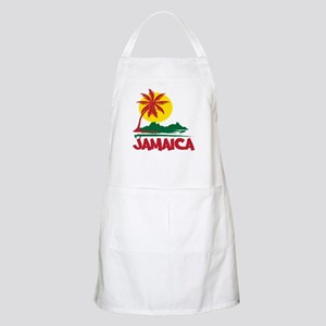 Jamaica Sunset BBQ Apron