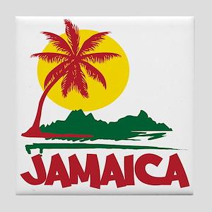 Jamaica Sunset Tile Coaster