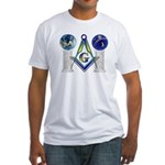 Masonic Globes Fitted T-Shirt