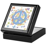 Peace & Butterflies Keepsake Box