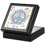 Peace & Butterflies Keepsake Box