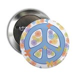 "Peace & Butterflies 2.25"" Button (10 pack)"