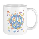 Peace & Butterflies Mug