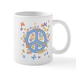 Peace & Butterflies Mug