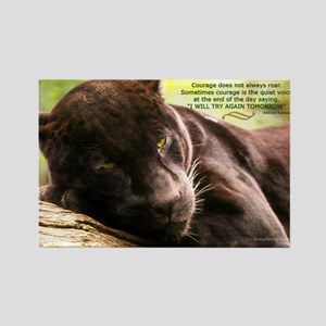 Jaguar Photograph Rectangle Magnet