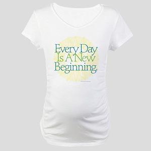 New Beginnings Maternity T-Shirt