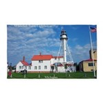 Whitefish Point Lighthouse Area Rug