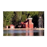 Sand Point Lighthouse Baraga Area Rug