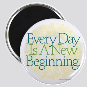 "New Beginnings 2.25"" Magnet"