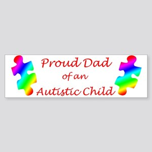 Autism Dad Bumper Sticker