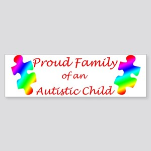 Autism Family Bumper Sticker
