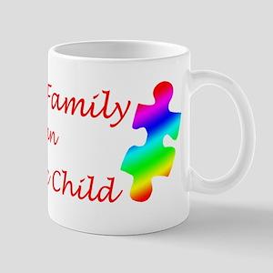 Autism Family Mug