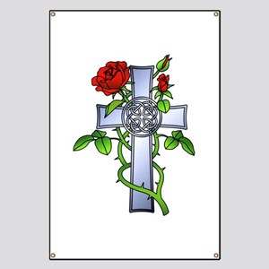 Celtic Cross Tattoo Banners Cafepress