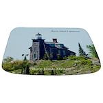 Huron Island Lighthouse Bathmat