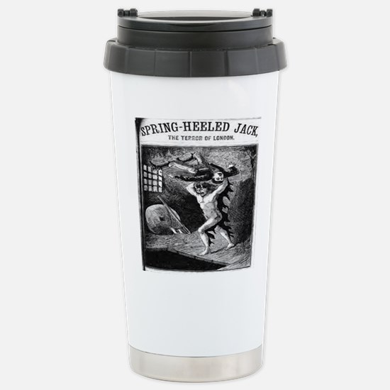 Spring heeled jack Stainless Steel Travel Mug