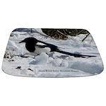 Black Billed Rocky Mountain Magpie Bathmat