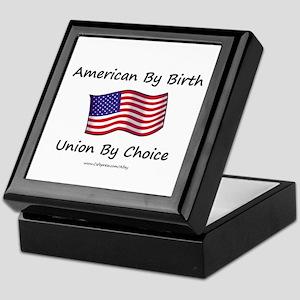 Union By Choice Keepsake Box