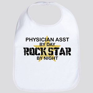 Physician Assistant Rock Star by Night Bib