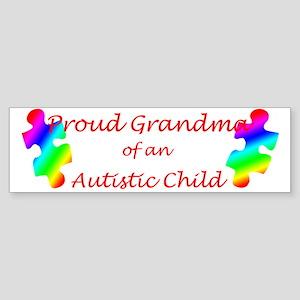 Autism Grandma Bumper Sticker