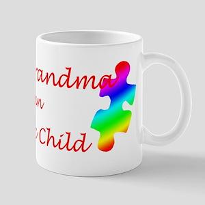 Autism Grandma Mug