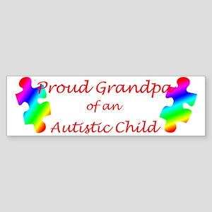 Autism Grandpa Bumper Sticker
