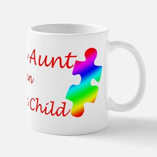 Autism Aunt Mug