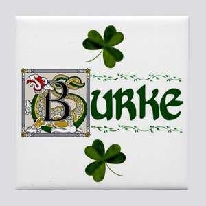 Burke Celtic Dragon Ceramic Tile