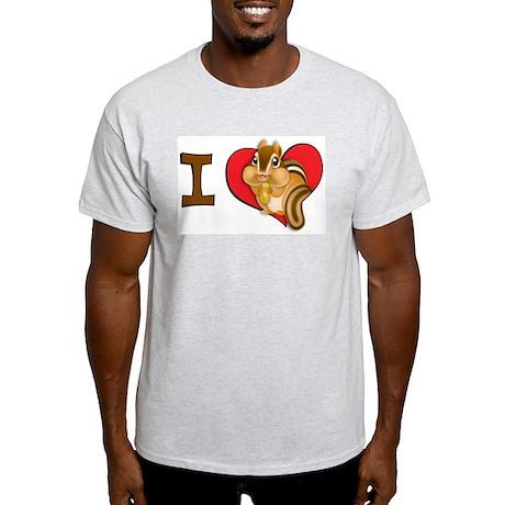 I heart chipmunks Light T-Shirt