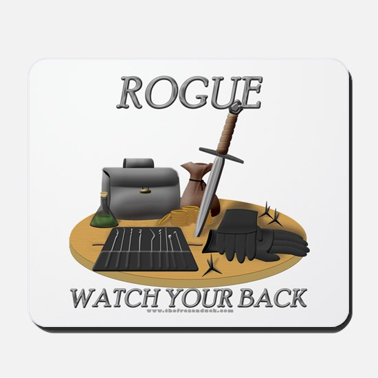 Rogue - Watch Your Back Mousepad