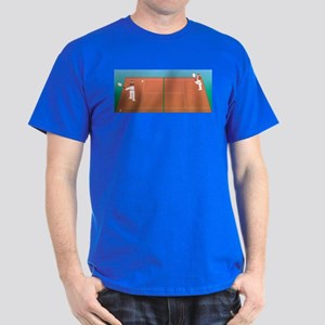 Tennis Game Dark T-Shirt