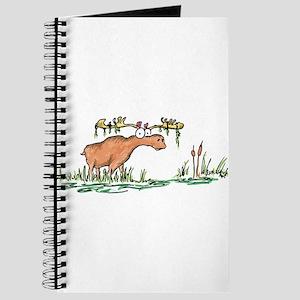 moose in a swamp Journal